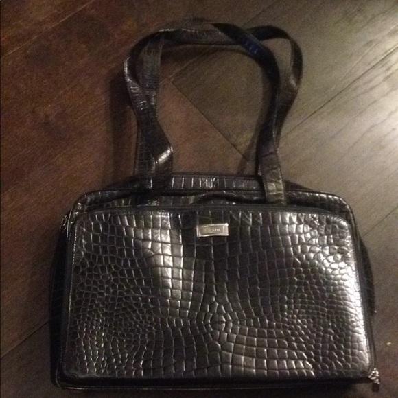 Escada Handbags - Authentic Esacada black leather bag